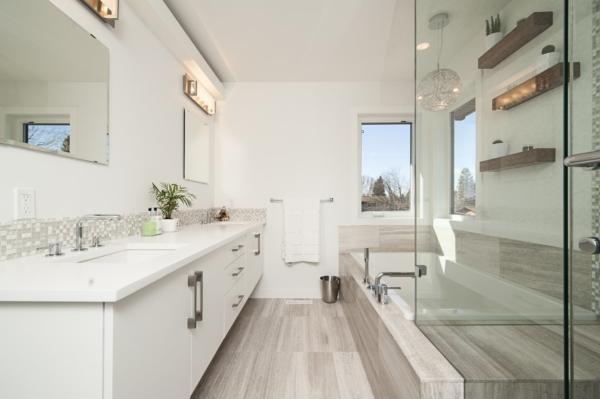 Aménagement intérieur pour salle de bain